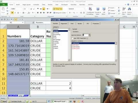 Mr Excel & excelisfun Trick 71: ROUND to 4 or 2 Formula or Conditional Formatting?