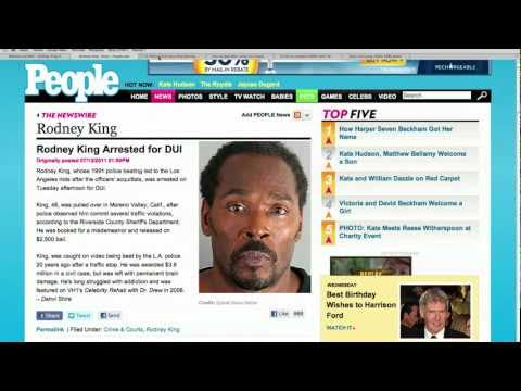 Rodney King Arrested