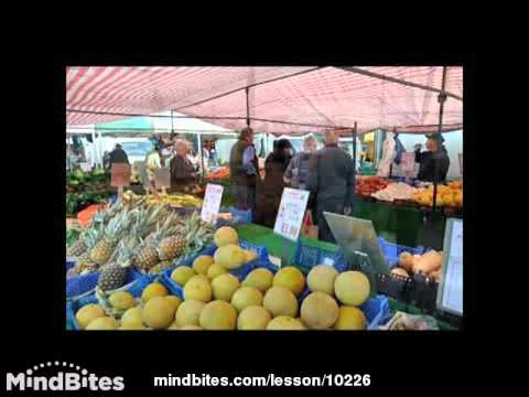 Painting in town & country - Prt 16 - market scene