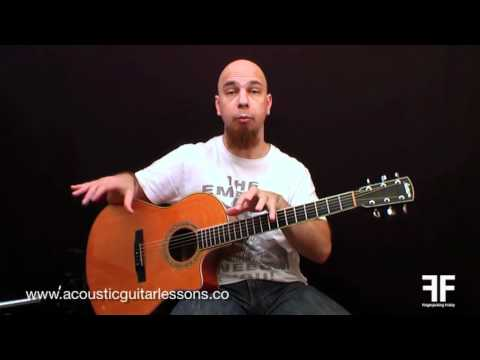 Easy Acoustic Guitar Lessons - Fingerpicking Friday Episode 01