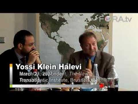 Yossi Klein Halevi - Israeli Politics after the Intifada