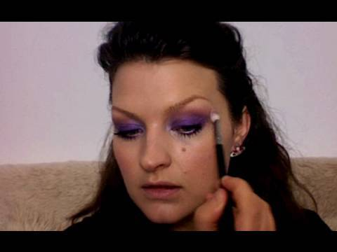 TREND: Purple Eyeshadow inspired by Versace S/S 10