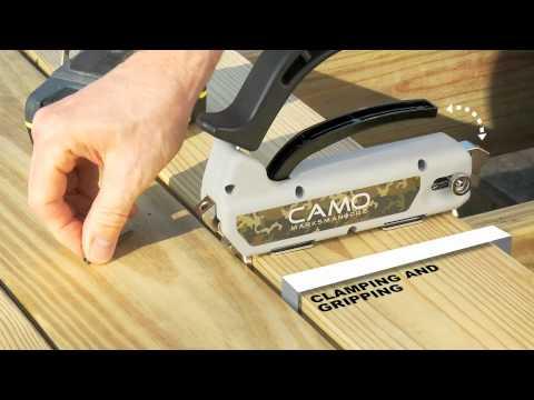 Camo Hidden Deck Fastening System