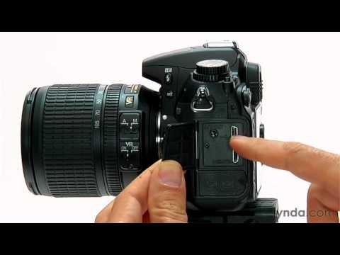 Nikon D7000 overview: Exploring the controls | lynda.com