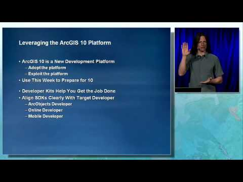 ESRI DevSummit 2010: ArcGIS Desktop, Part Three   Part 3 of 3