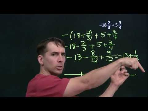 Art of Problem Solving: Mixed Number Subtraction