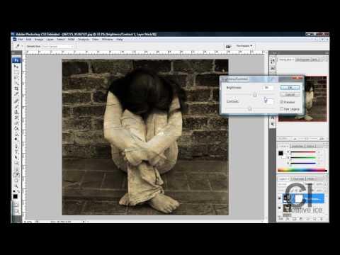 Photoshop tutorial : Old vintage effect