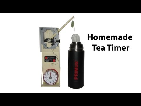 Homemade automatic Tea Timer