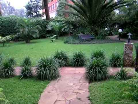 Gardens at the Fairview Hotel, Nairobi, Kenya