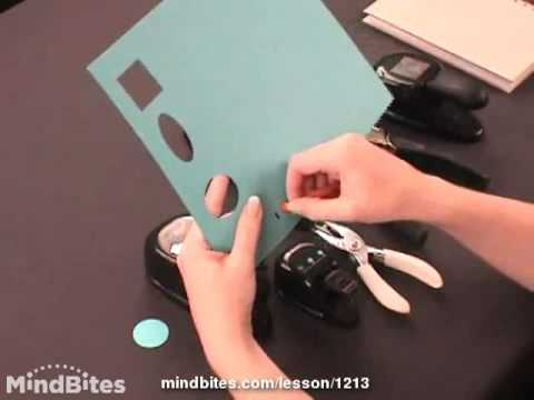 Tools  for Hole Punches in Greeting Cards