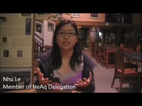 New England Aquarium Student Delegation Video