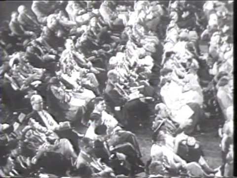 Politics. Ike Stumps Midwest; Adlai's Son A Marine 1952 Newsreel