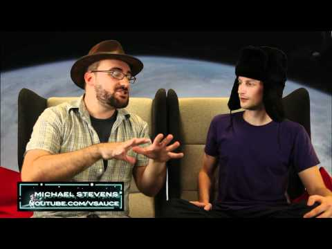 Oh No! Brad Morphs Into Michael Stevens. YouTube Space Lab With Liam & Brad