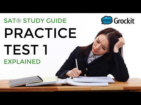 Grockit Official SAT Study Guide pg. 390-395