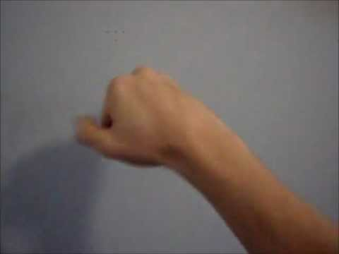 How to slap a wall + how to high five a wall - How To Do AnythingTV video