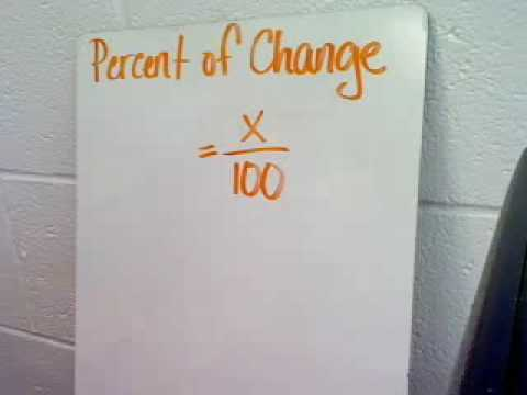 Percent of Change I
