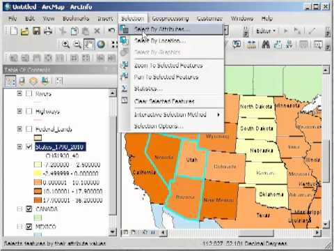 Querying Data in ArcGIS Desktop