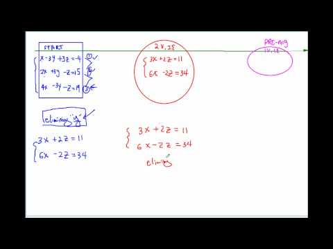 How to solve equation with 3 variables