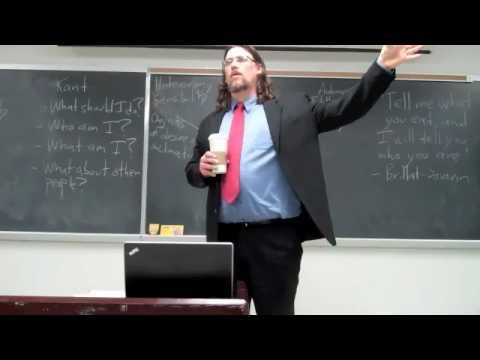 Intro to Philosophy:  Kant, Groundwork, sec. 2-3
