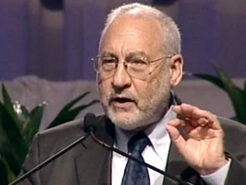 Joseph Stiglitz: 'Trickle Up Economics' to Blame for Crisis