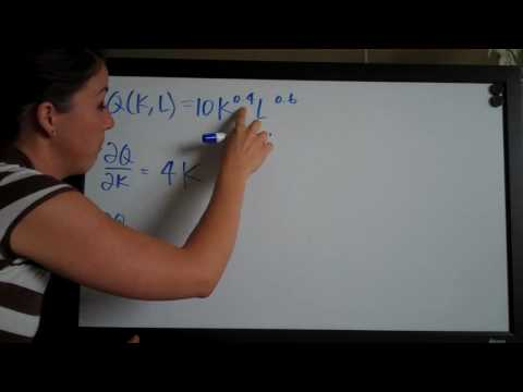 Partial Derivatives Example 8
