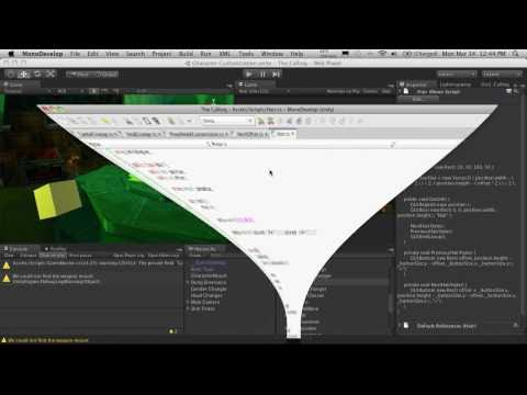 185. Unity3d Tutorial - Character Customization Part 16