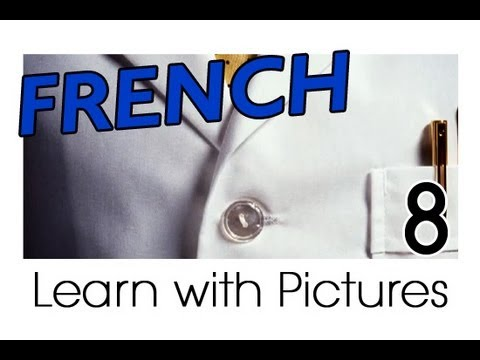 Learn French - French Clothing Vocabulary