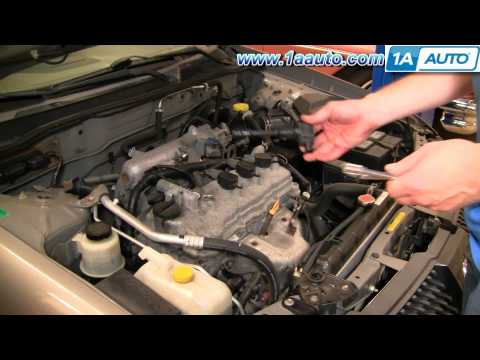 How To Install Replace Ignition Coil Nissan Sentra 2.5L 02-06 1AAuto.com