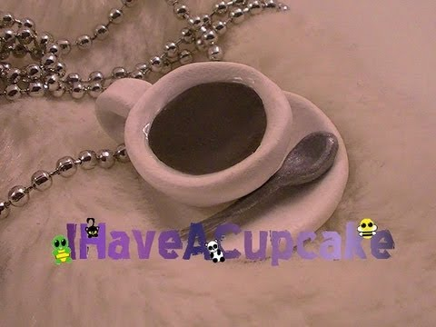 Coffee/Tea Cup Necklace