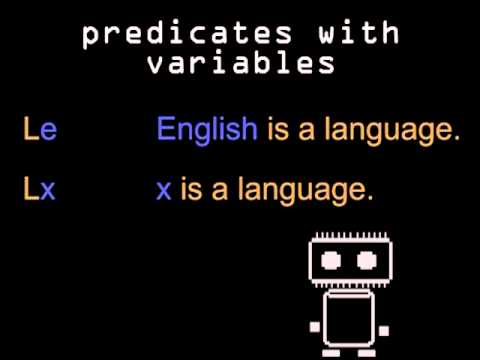 Logic & Language - subjects & predicates in symbolic logic (Logic 2 of 5)