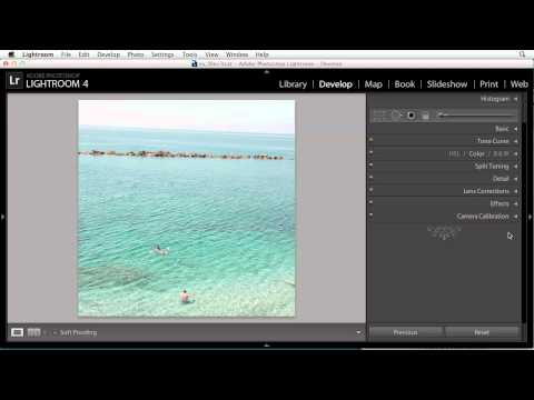Lightroom 4: Cropping and straightening images | lynda.com tutorial