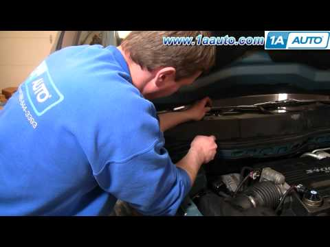 How To Install Replace Cabin AIr Filter 05-09 Chevy Equinox 1AAuto.com