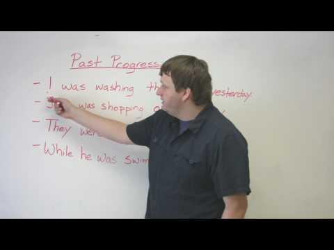 English Grammar - Past Progressive