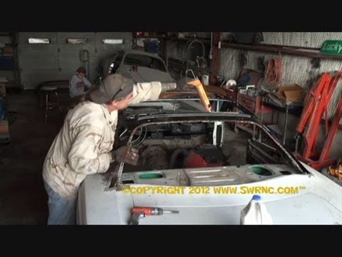 Rust Repair Made Easy-Car Roof Replacement-Part 11-Using Construction Adhisive