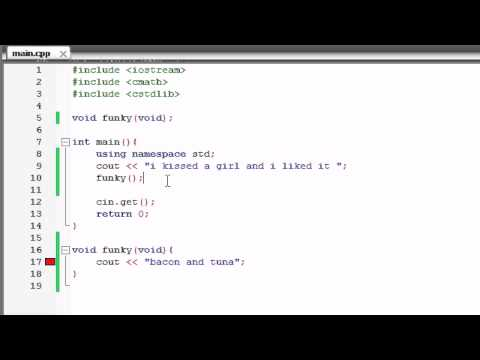 C++ Programming Tutorial - 9 - using namespace std; Trick