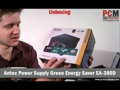 Unboxing: Antec Power Supply Green Energy Saver EA-380D