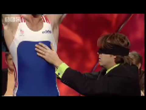 Jonathan Ross guesses the weight lifter -BBC sports comedy