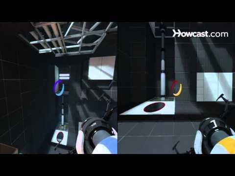 Portal 2 Co-op Walkthrough / Course 2 - Part 1 - Room 01/08