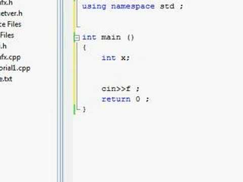 C++ Tutorial (Wrap 4 @ video 17) - Absolute n00b spoonfeed