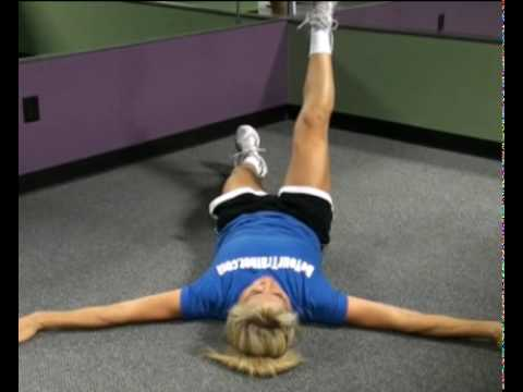 Stretch, Lower Back, Straight Legs : BeYourTrainer.com