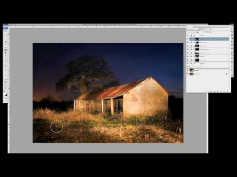 Light Painting Photography and Post-Processing in Photoshop!