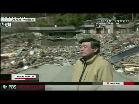 Japanese Survivors Describe Escape From Tsunami, Search for Family, Employees