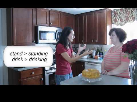 Lesson 60 - Present Progressive (affirmative) - Learn English with Jennifer