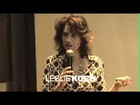 "TEDxGotham, Leslie Koch, ""Pop Up Island"""