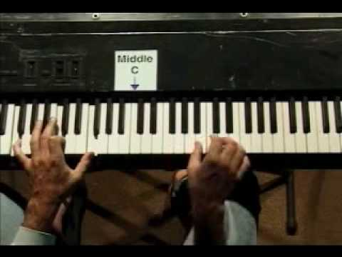 "Piano Lesson - How to play a ""Country Sixth"" piano fill"