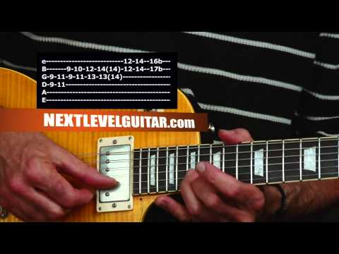 Guitar lesson Allman Brothers inspired twin guitar harmony on one guitar using Major scales