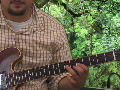 Guitar Scales - Learn How to Solo - Minor Pent Root on A