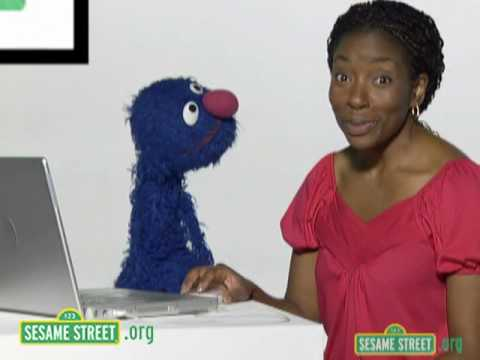 Sesame Street: Grover and Makeda Introduce Features