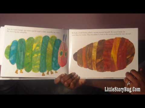 preschool activity - The Very Hungry Caterpillar story- littlestorybug