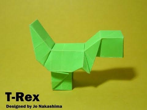 Origami Block T-Rex (Jo Nakashima)